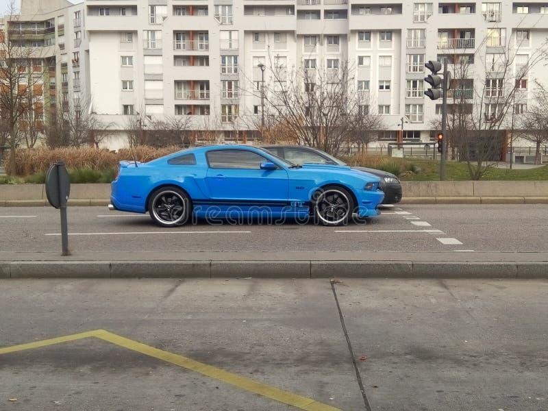 Super samochód gt zdjęcie royalty free