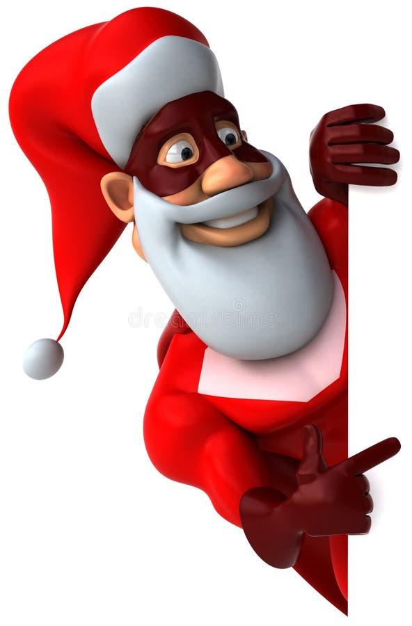 Super Santa Claus Stock Photography