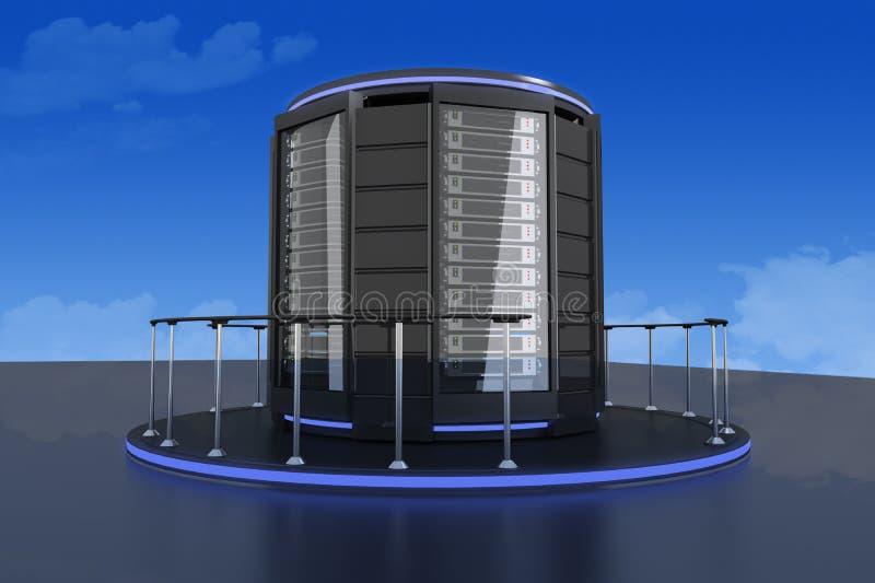Super Server 01_Lt stock illustratie