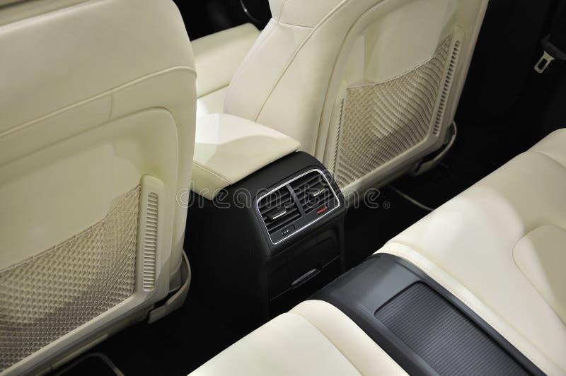 Super Sport Car Interior. A Red Super Sport Car Interior stock photo