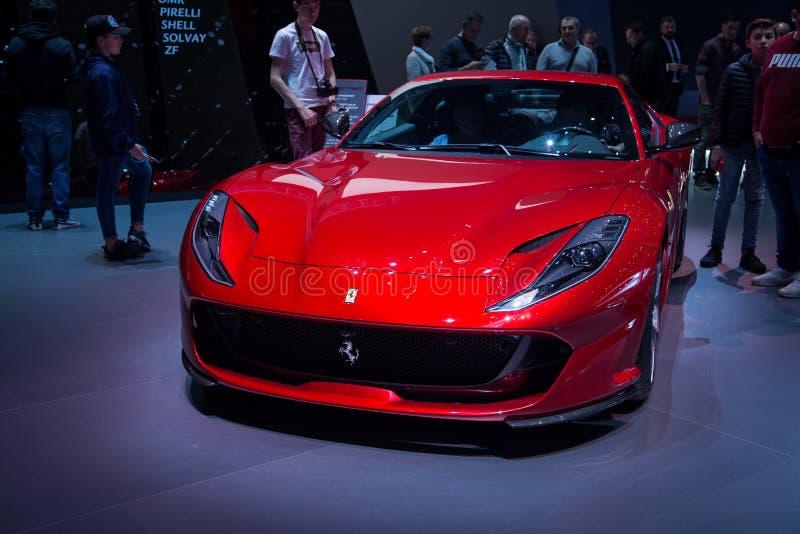 Super sporta pojęcia samochód obraz stock