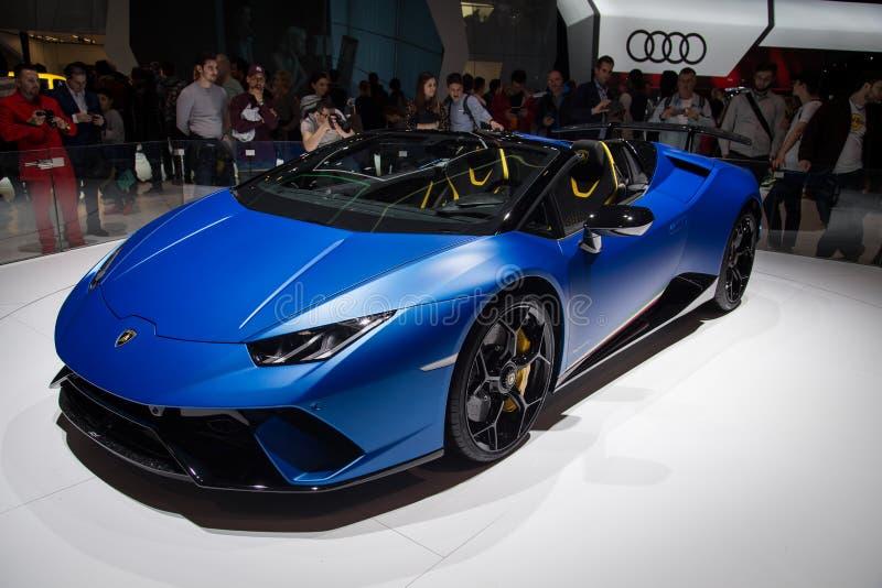 Super sports concept car stock images