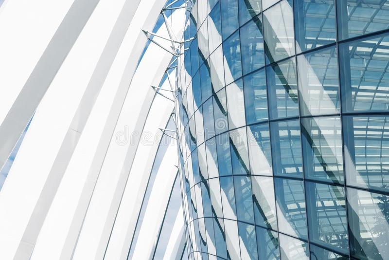 Super structure and architecture facade of modern building, Abstract architectural stock images