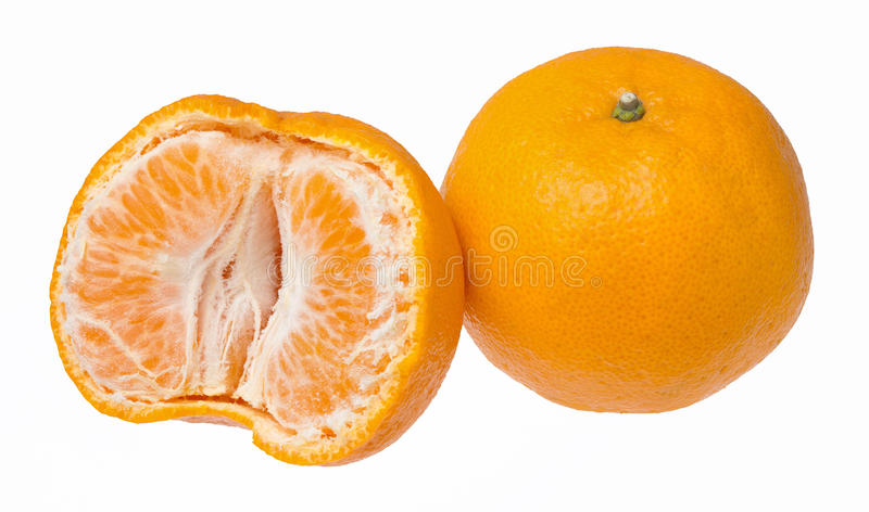 Super sweet honey ponkan orange royalty free stock image