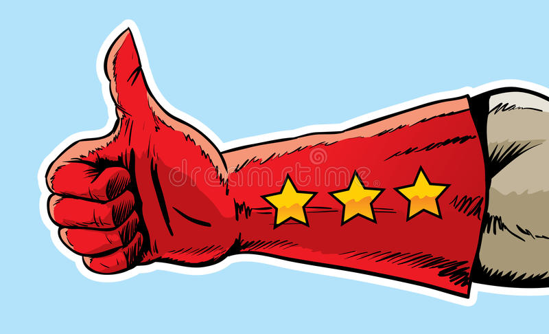 Download Super Thumbs Up Stock Image - Image: 24675281