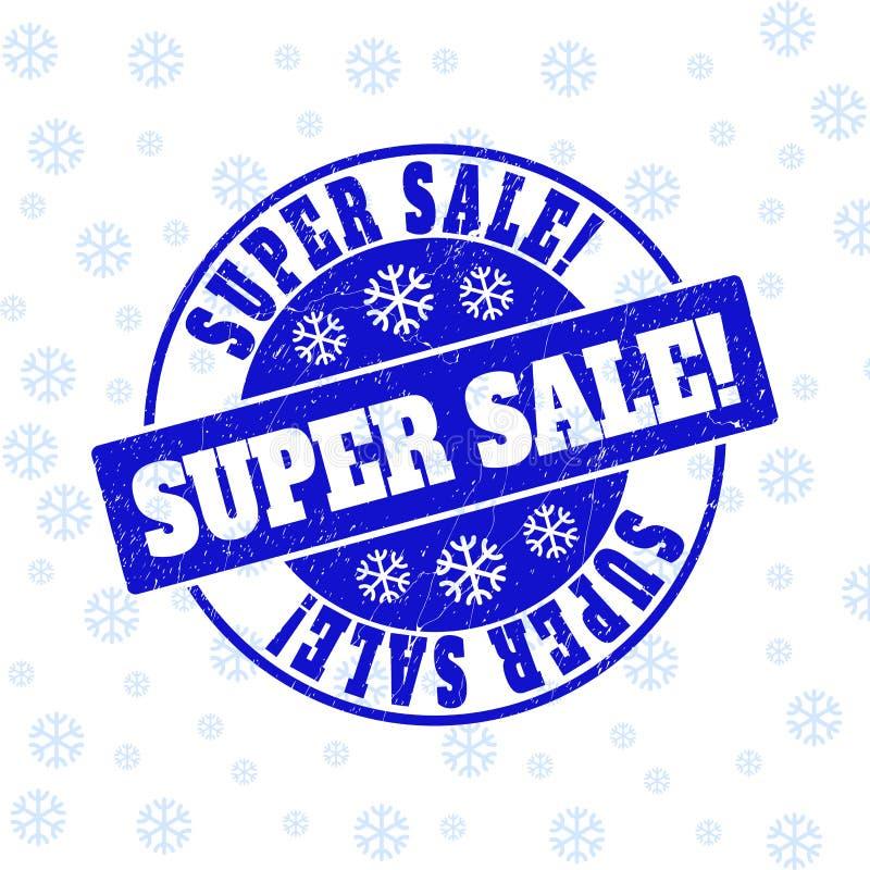 Super Verkoop! Gekrast om Zegelverbinding voor Nieuwjaar vector illustratie