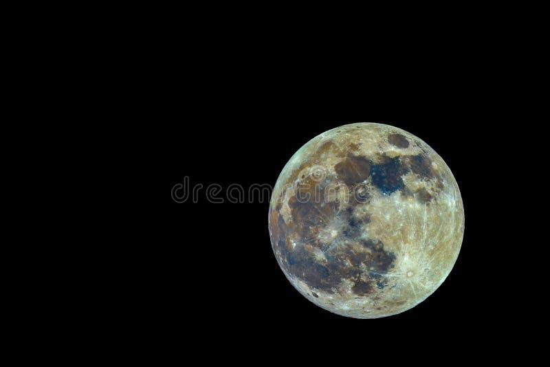 Super Volle maan stock fotografie