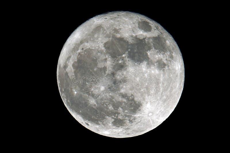 Super Volle maan stock foto's