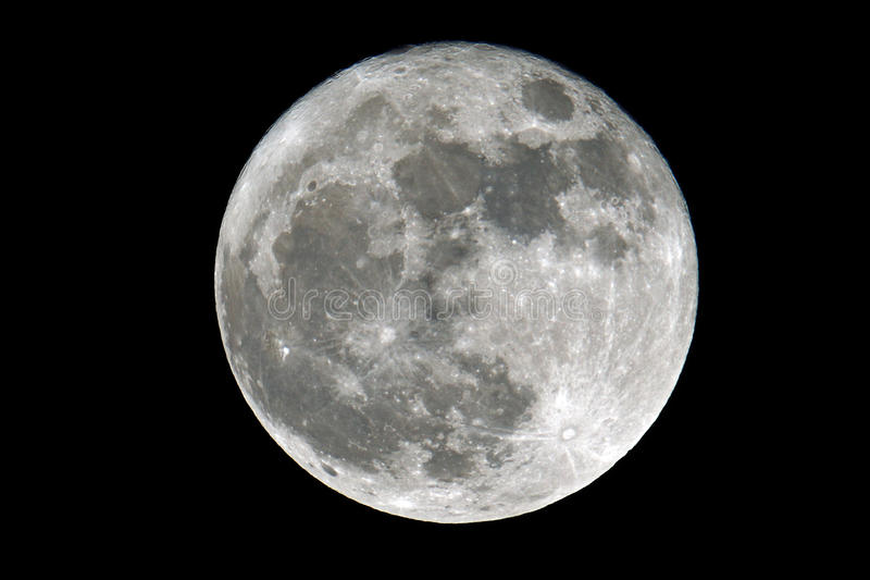 Super Vollmond stockfotos