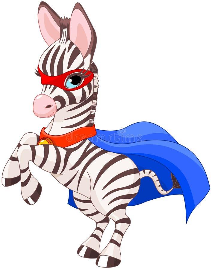 Super Zebra vector illustratie