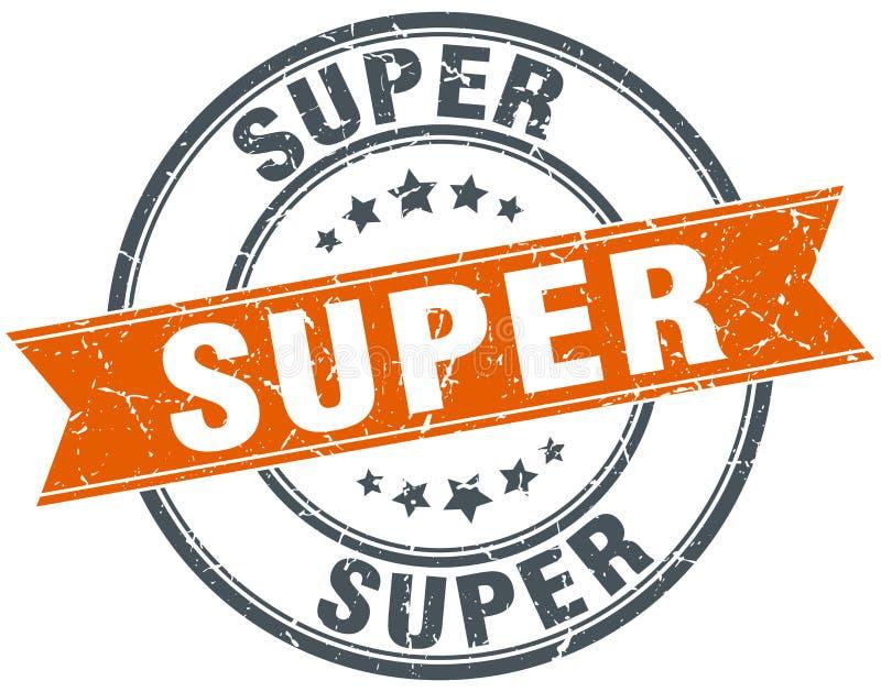 Super zegel royalty-vrije illustratie