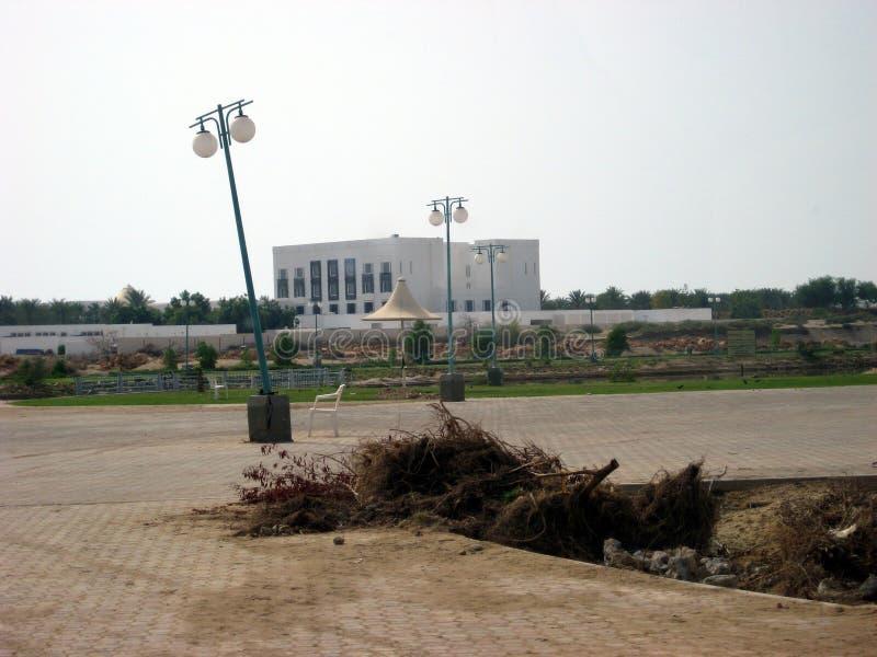 Super zyklonischer Sturm Gonu Muscat Oman am 1. Juni 2007 stockfotografie