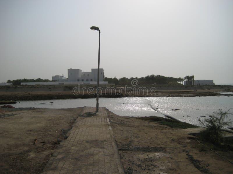 Super zyklonischer Sturm Gonu Muscat Oman am 1. Juni 2007 stockbild
