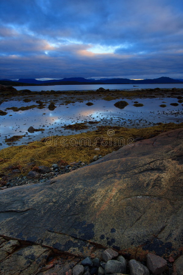 superb landscape in Norway royalty free stock photos