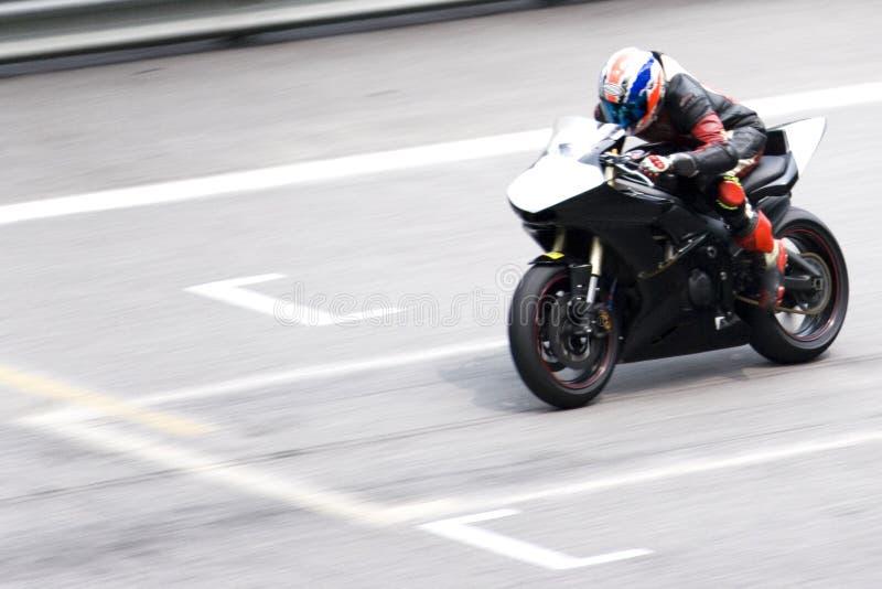 Superbike Rennen stockfotos