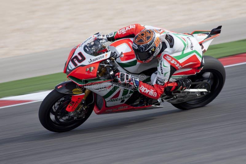 Superbikes 2011 stockbilder