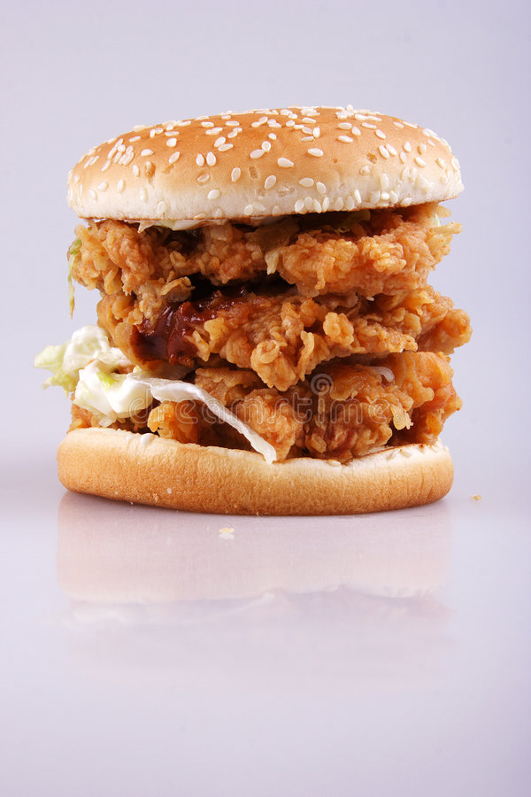 Superburger stockfotografie
