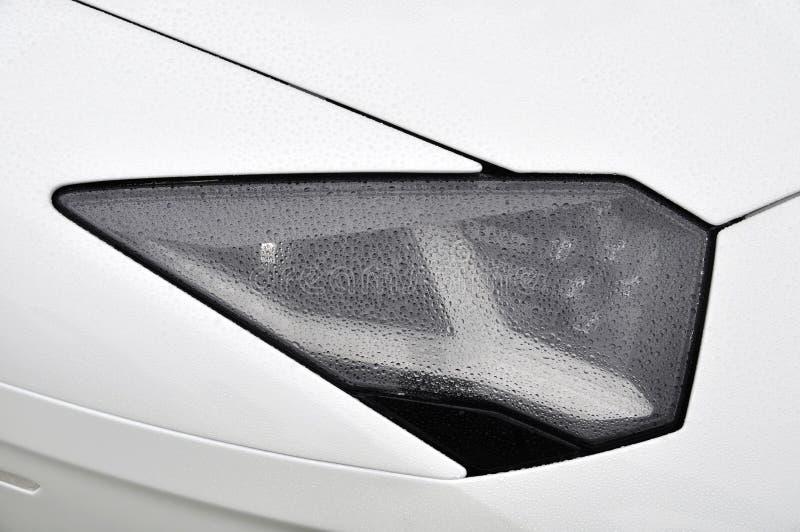 Download Supercar λευκό προβολέων στοκ εικόνες. εικόνα από αυτοκίνητο - 22791150