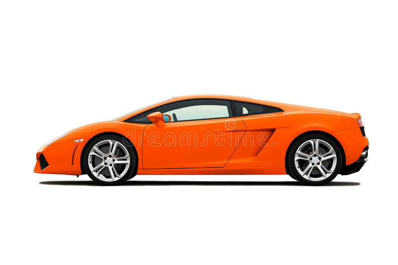 supercar photographie stock