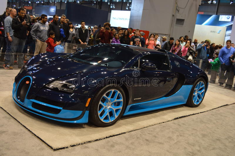 Supercar Bugatti Veyron photo stock