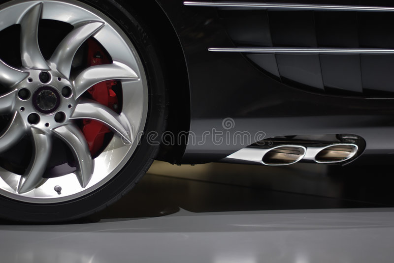 Supercar detail royalty free stock images
