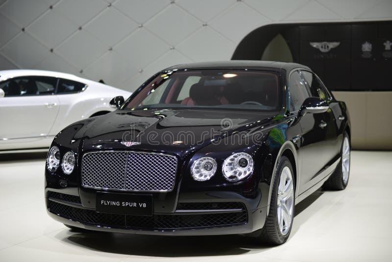 Supercar di Bentley Flying Spur V8 immagine stock
