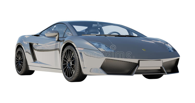 Download Supercar Isolated On A Light Background Stock Illustration - Illustration: 32345433