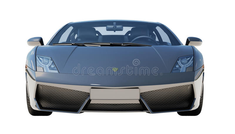 Download Supercar Isolated On A Light Background Stock Illustration - Illustration: 32345449