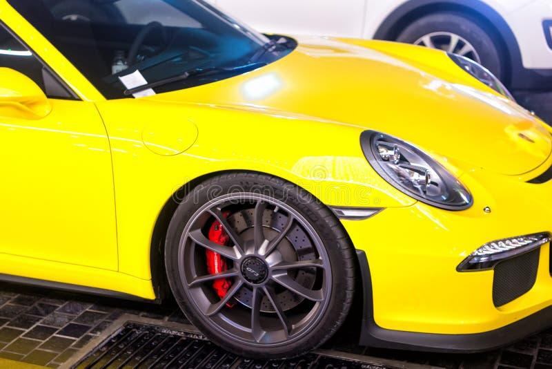 Supercar Porsche 911 Carrera 4 GTS Huricane Yellow Color Editorial on porsche mirage, porsche gt3rs, porsche truck, porsche cayman, porsche gt 2, porsche concept, porsche sport, porsche gt3, porsche 904 gts, porsche turbo, porsche boxter, porsche ruf ctr, porsche cayenne, porsche boxster, porsche gtr3, porsche macan,