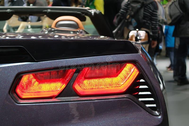 Supercars royaltyfria foton