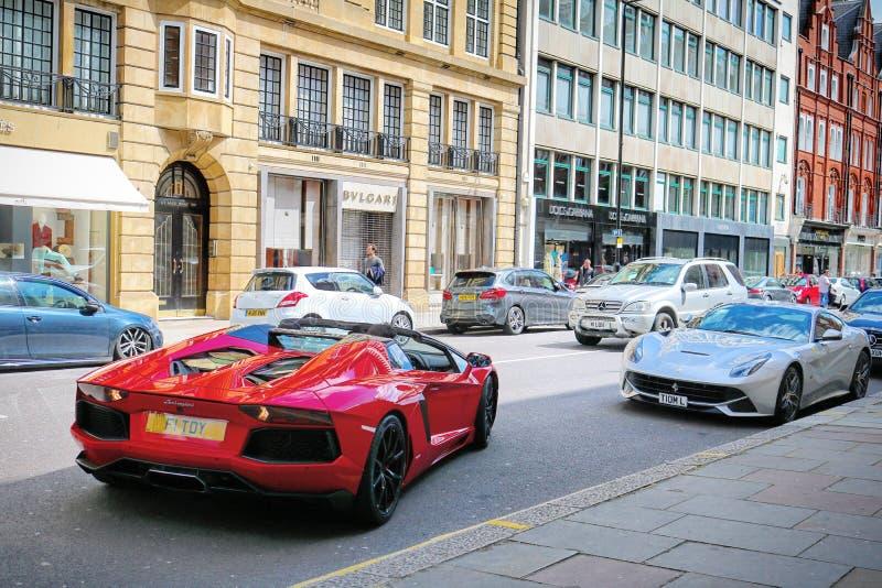 Supercars. London Canon d750 stock photos