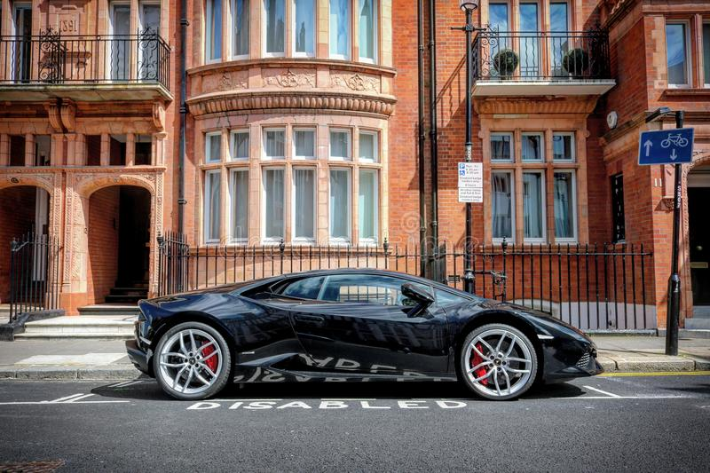 Supercars. London Canon d750 stock photography