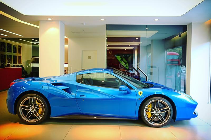Supercars. London Canon d750 stock image
