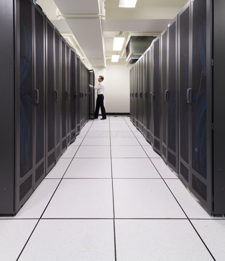Supercomputer in der Tätigkeit