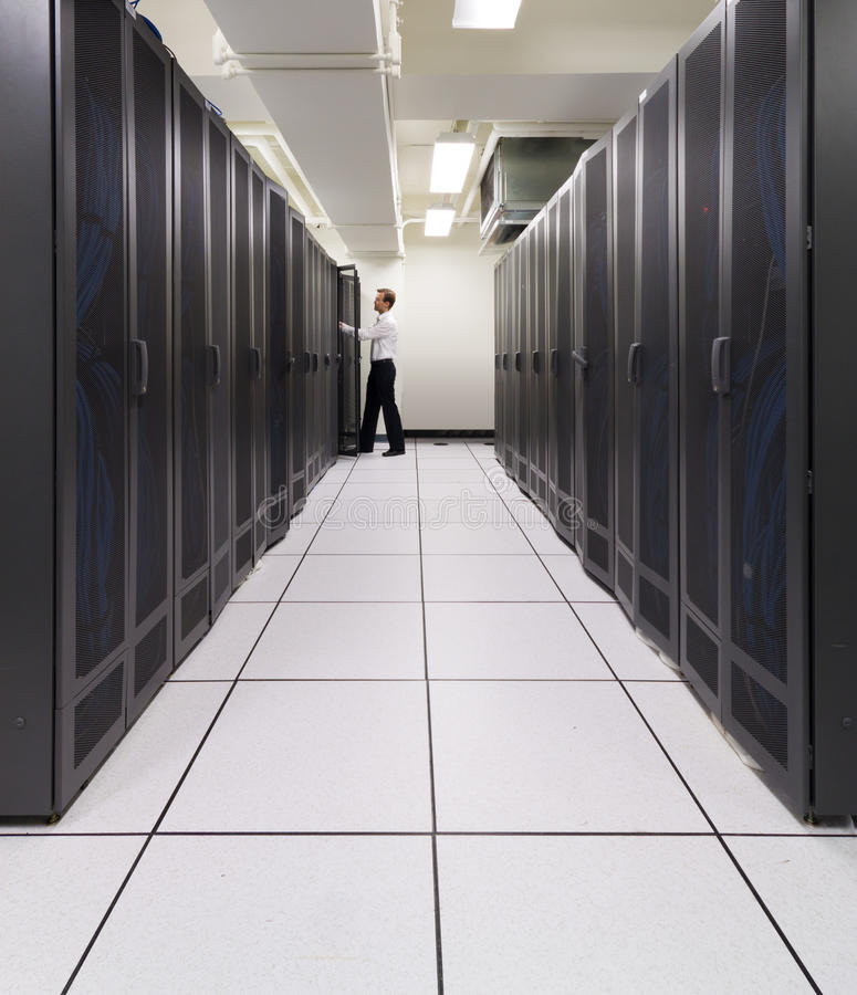 Free Supercomputer In Action Stock Image - 21292901