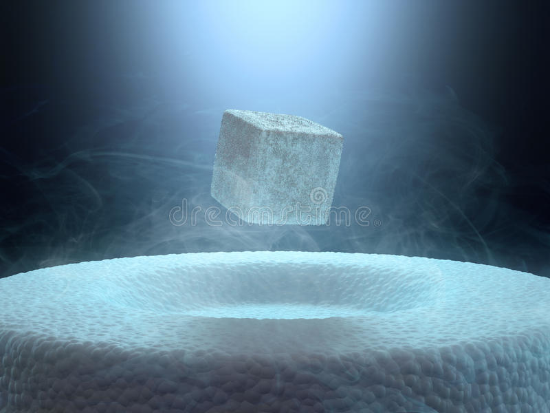 superconductivity immagine stock