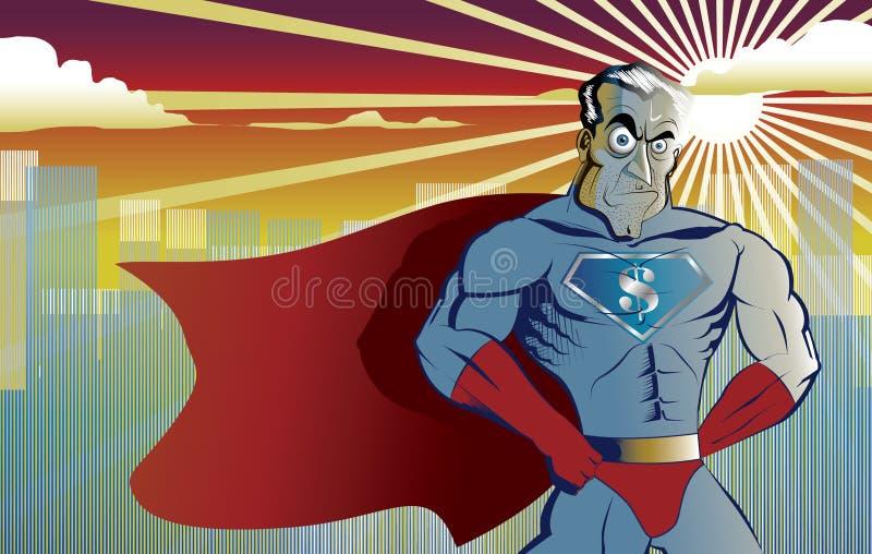 Supereroe illustrazione vettoriale