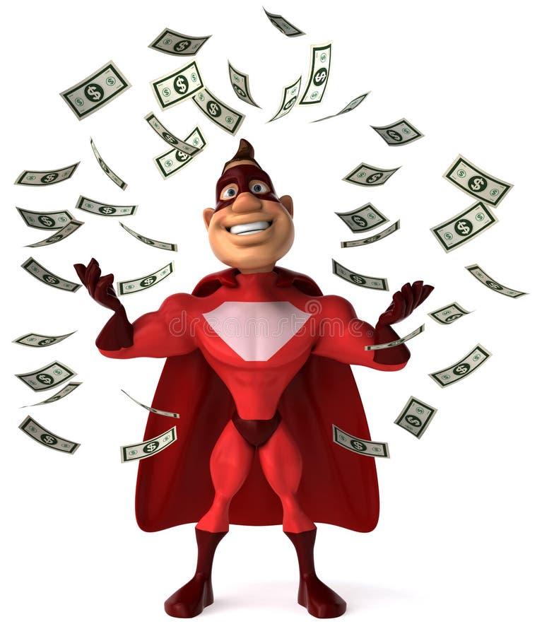 Supereroe royalty illustrazione gratis