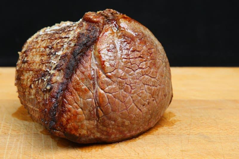 Superestructura de la carne asada de la junta de la carne de vaca imagen de archivo libre de regalías