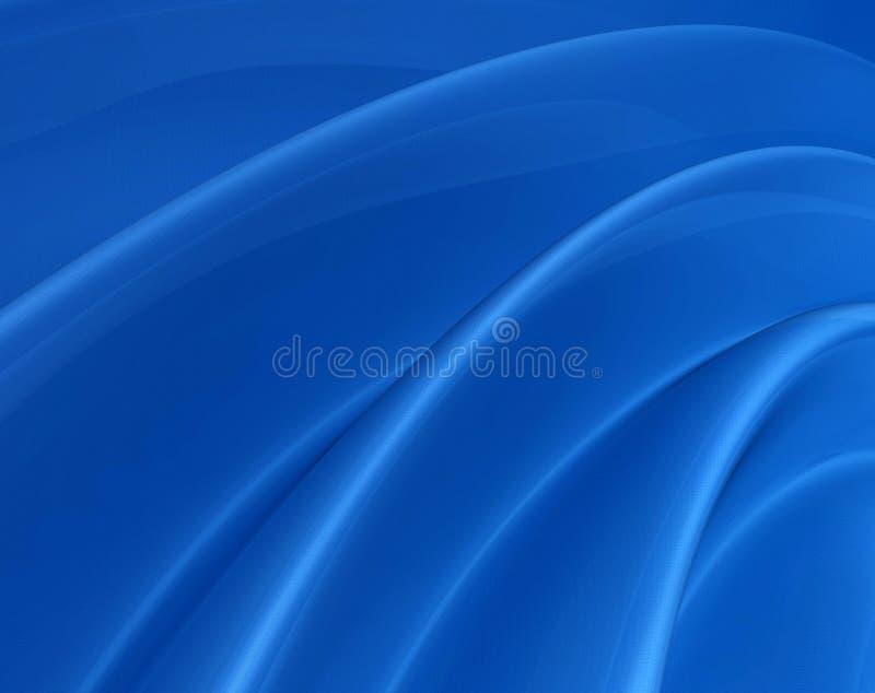 Superfície azul radial ilustração do vetor