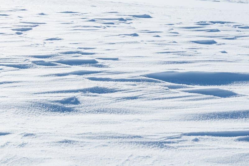 Superfície branca da neve do brilho foto de stock royalty free