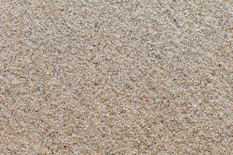 Superfície da areia molhada de quartzo A textura da imagem de fundo fotografia de stock