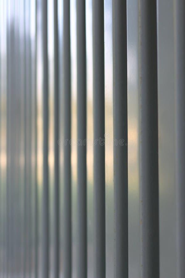 Superfície da folha de metal trapezoidalmente fotos de stock royalty free
