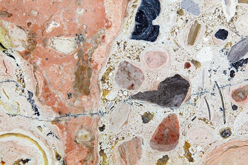 Superfície da rocha do carbonato foto de stock royalty free