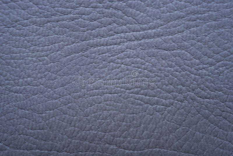 Superfície de couro cinzenta do fundo da textura imagem de stock royalty free