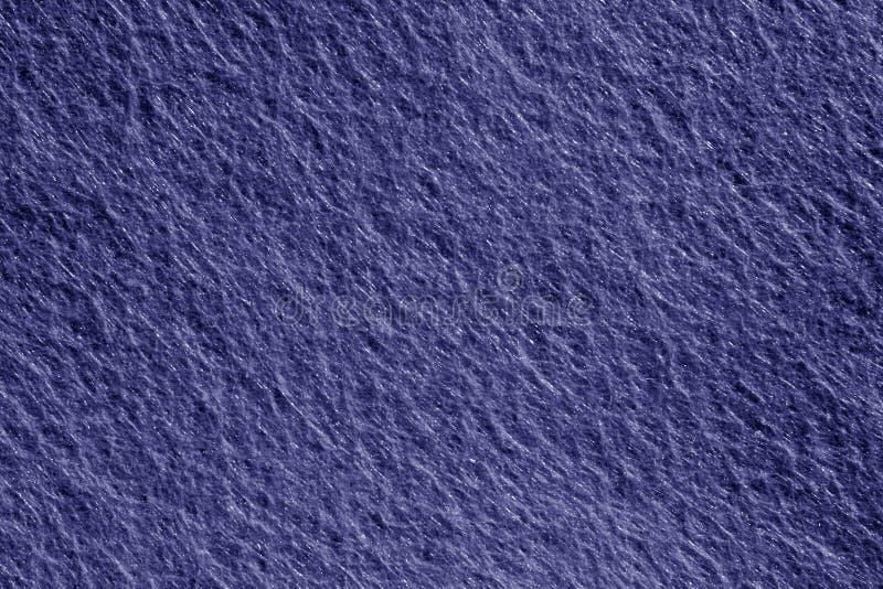 Superfície de feltro na cor azul fotografia de stock royalty free