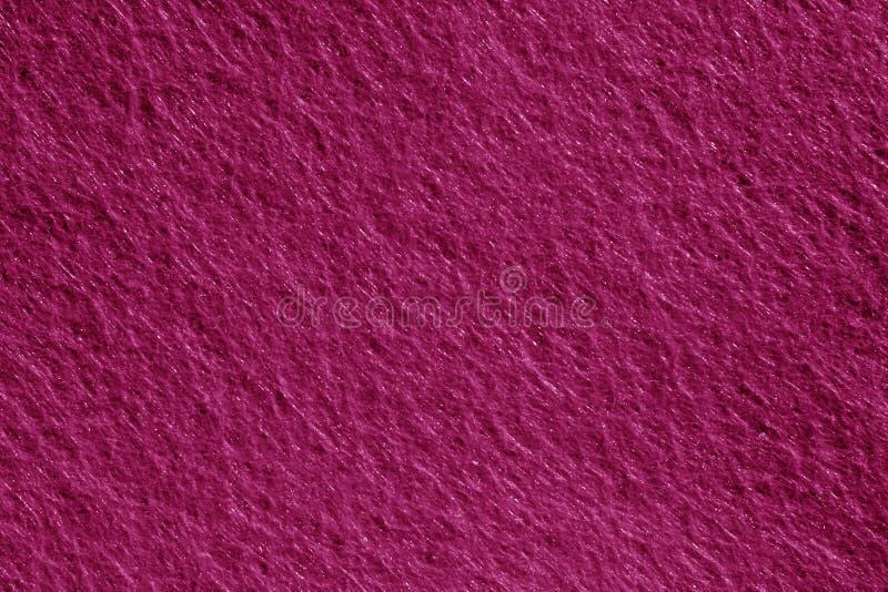 Superfície de feltro na cor cor-de-rosa imagens de stock