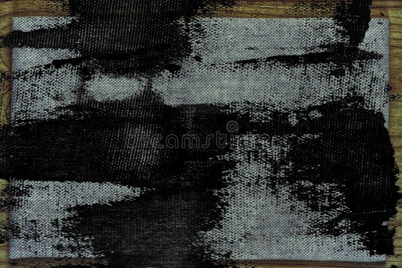 Superfície de linho da tela do Grunge para o uso do modelo ou do desenhista, amostra da capa do livro, amostra de folha ilustração stock
