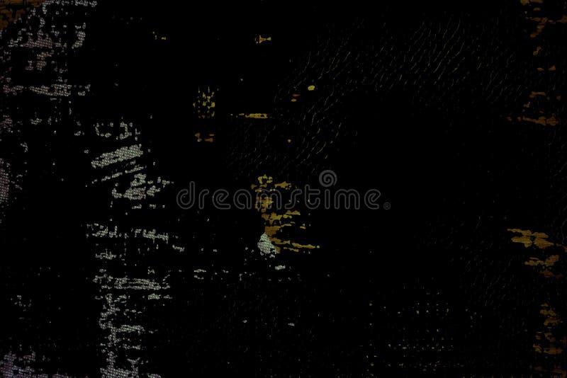 Superfície de linho ultra alaranjada da tela do Grunge para o uso do modelo ou do desenhista, amostra da capa do livro, amostra d ilustração stock