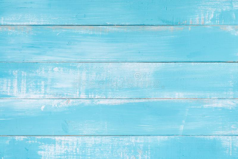 Superfície de madeira azul do fundo da textura com teste padrão natural velho ou opinião de tampo da mesa de madeira velha da tex imagens de stock royalty free